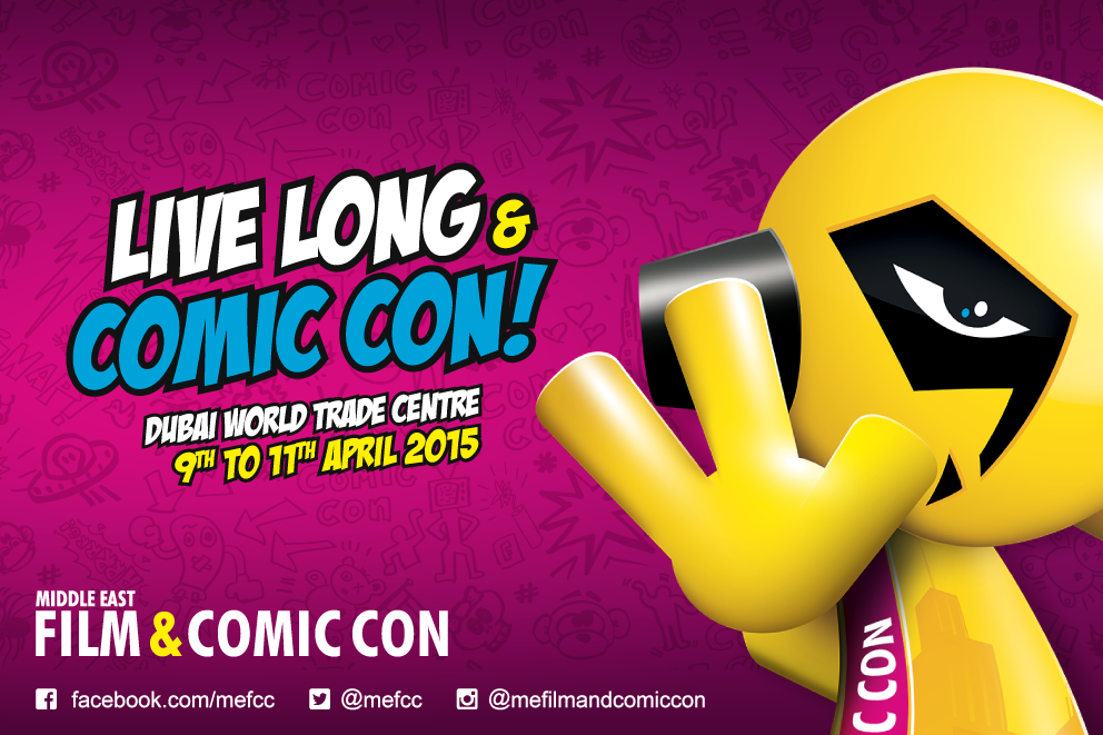 Middle East Film & Comic Con 2015
