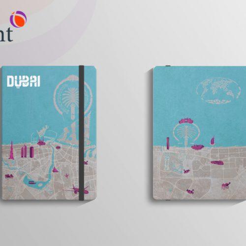 diseño gráfico libreta turistica