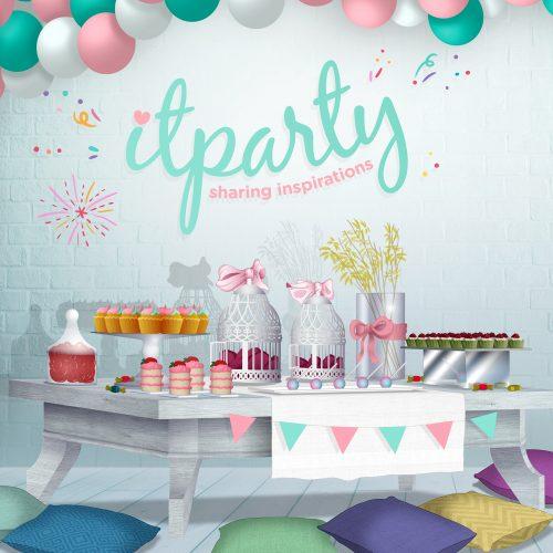 ilustración it party