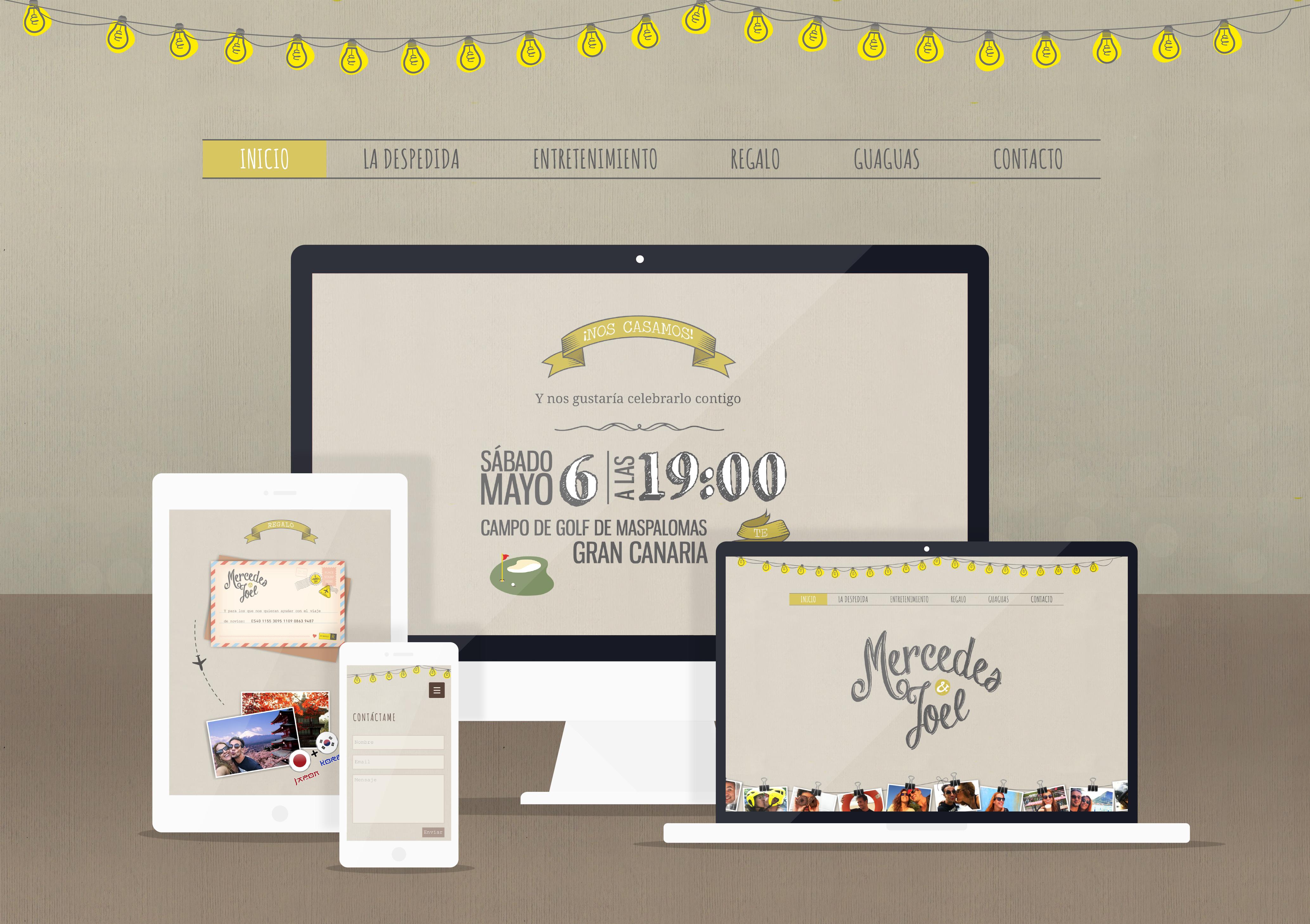 Web bodas