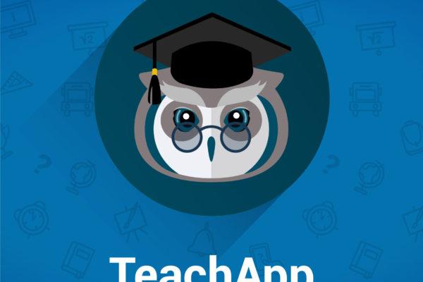 app, logotipo, móvil, clases, profesores