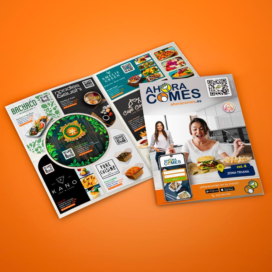 flyer publicidad diseño