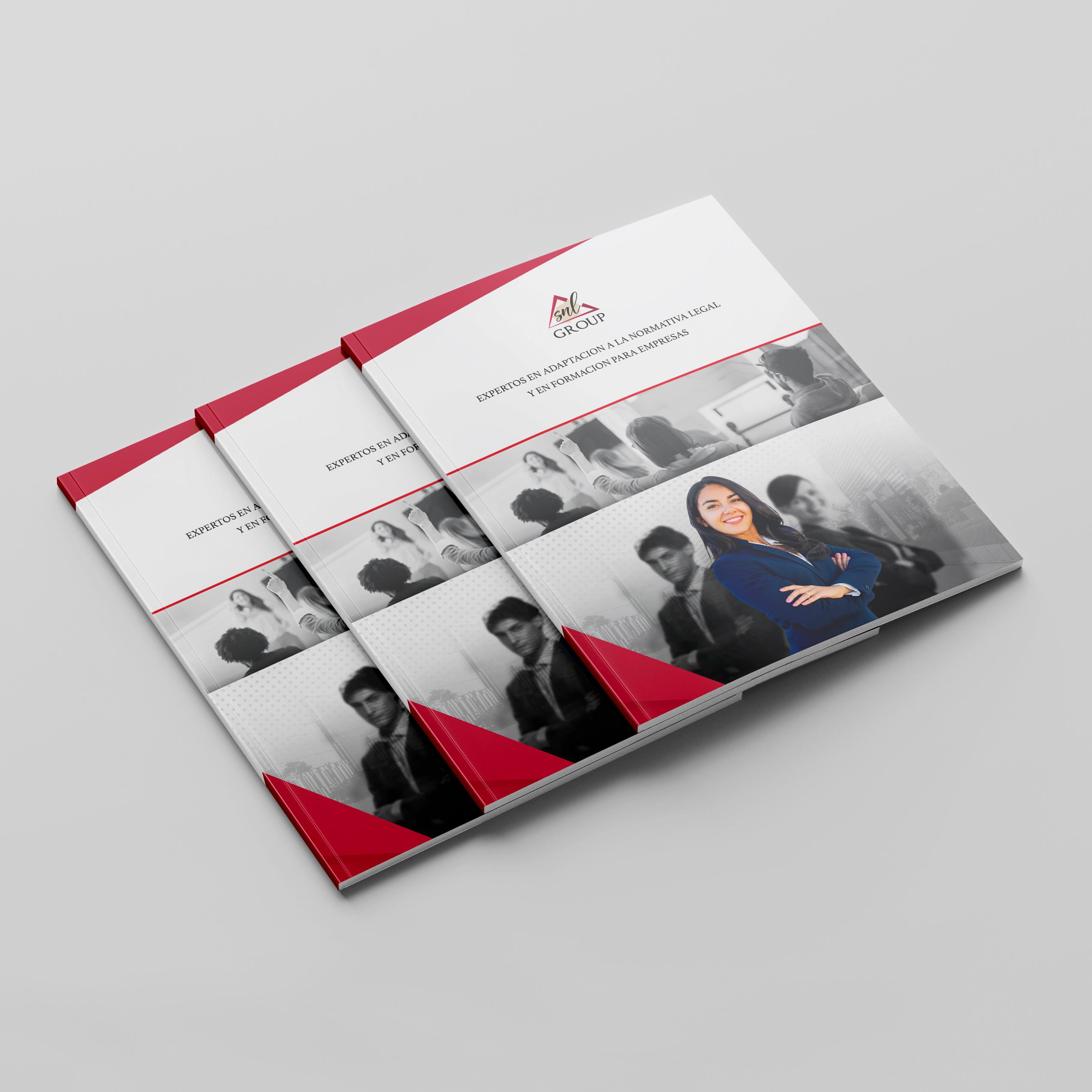 dossier diseño flyer